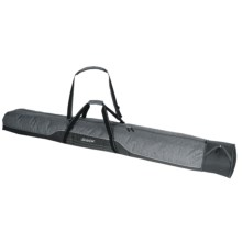 Swix Single Expandable Ski Bag in Grey Flannel/Black - Closeouts
