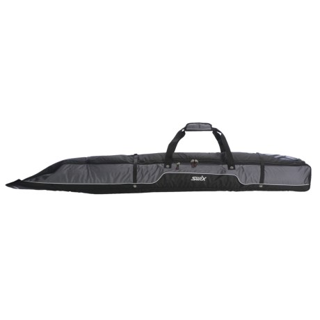 Swix Single Ski Bag in Black/Charcoal
