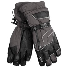 Swix Swagger Gore-Tex® Gloves - Waterproof (For Men) in Charcoal/Black - Closeouts