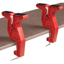 Swix T-Bar 500 Snowboard Vise in Red - Closeouts
