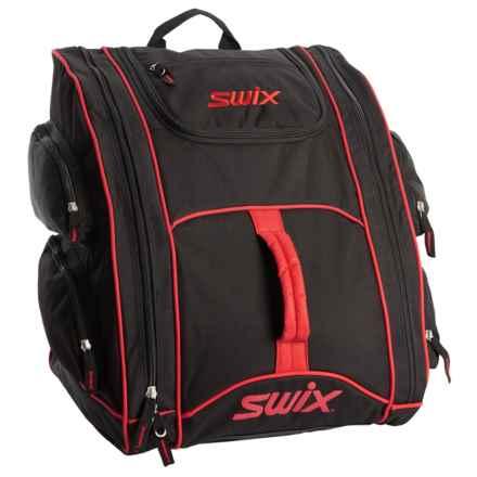 Swix Tri-Pack Ski Boot Bag in Red/Black - Closeouts