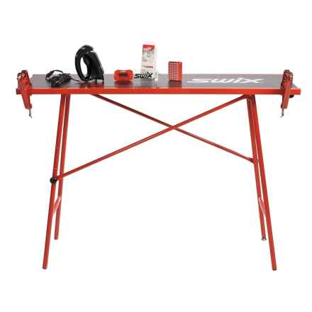 Swix Ultimate Alpine Ski Tuning Kit with Table in See Photo - Closeouts