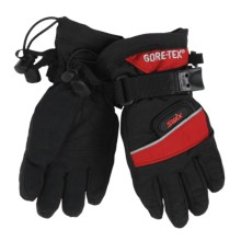 Swix Utility Gore-Tex® Gloves - Waterproof, Insulated (For Kids) in Black/Crimson - Closeouts