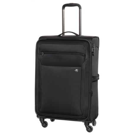 "SWIZA 25"" Eventual Spinner Suitcase in Black"