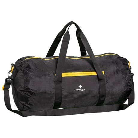 SWIZA Cordis 60L Duffel Bag in Black