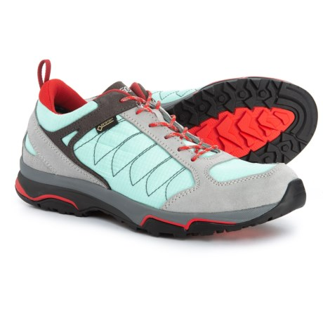 Sword GV Gore-Tex(R) Hiking Shoes - Waterproof (For Women) - SILVER/POOLSIDE (8 )