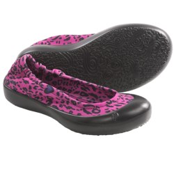 SWYT Ballerina Flats (For Youth Girls) in Cheetah Love Lime