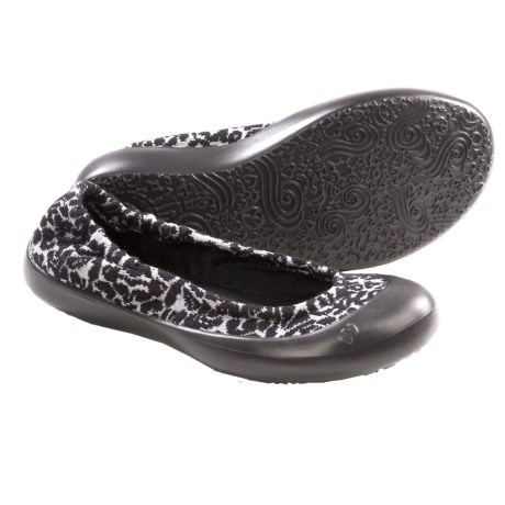 SWYT Ballerina Flats (For Youth Girls) in Jacquard Black