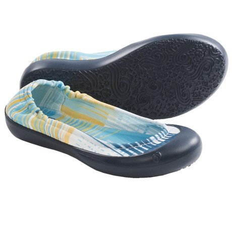 SWYT Ballerina Flats (For Youth Girls) in Scratch Plaid/Denim