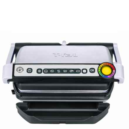 T-Fal OptiGrill® with Ceramic Plates in Black - Overstock