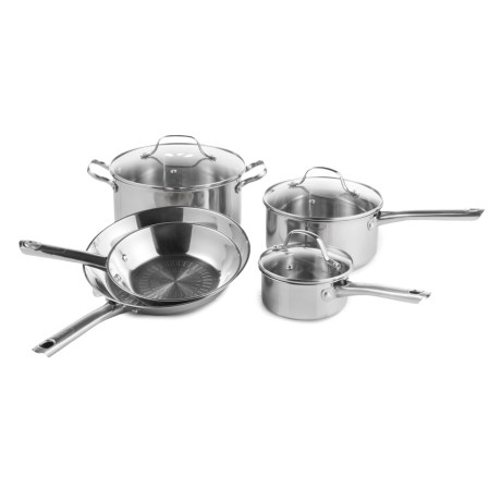 T-Fal Performa Stainless Steel Cookware Set - 12-Piece