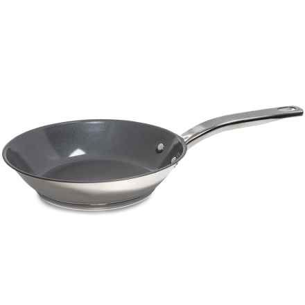 """T-Fal Precision 8"""" Frying Pan - Stainless Steel, Ceramic Coating in See Photo - Overstock"""