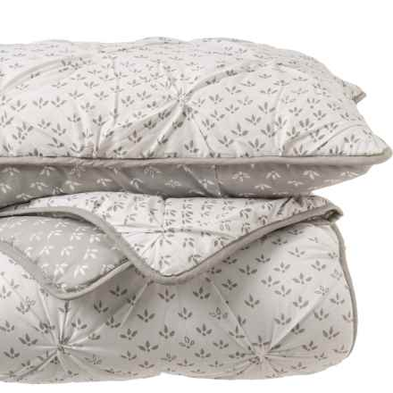 Tabitha Webb TABITHA WEBB Uneven Ditsy Quilt and Sham Set - Full-Queen in Gray - Closeouts