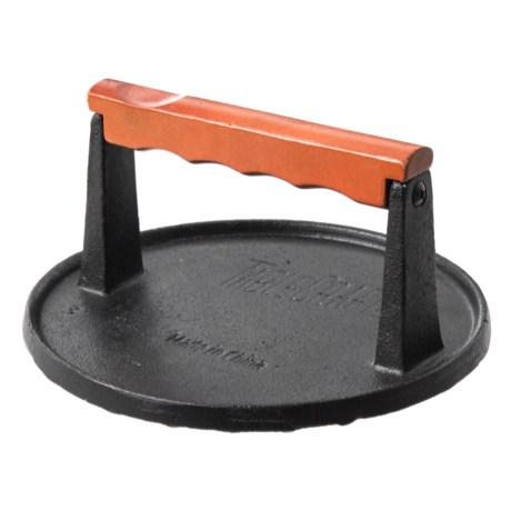 """TableCraft Cast Iron Steak Weight - 6-7/8"""" in Black"""