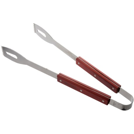 """TableCraft Heavy-Duty Tongs - 18"""", Stainless Steel in See Photo"""