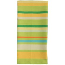 Tag Ariel Stripe Dish Towel - Cotton in Lime - Closeouts