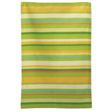 Tag Ariel Stripe Dish Towel in Lime - Closeouts