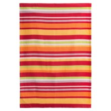 Tag Ariel Stripe Dish Towel in Red - Closeouts