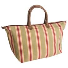 Tag Autumn Harvest Stripe Tote Bag in Multi Harvest - Closeouts