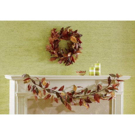 Tag Autumn Leaves Wreath