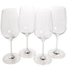 Tag Bella Collection Bordeaux Wine Glasses - Set of 4 in Clear - Closeouts