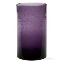 Tag Bubble Glass Tumbler - 18 fl.oz. in Purple - Closeouts
