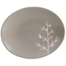"Tag Chalet 6"" Appetizer Plates - Set of 8 in Grey Tree - Closeouts"