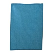 Tag Chambray Solid Waffle-Weave Dish Towel in Blue - Closeouts