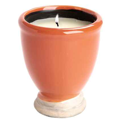 Tag Citronella Artisan Candle Pot in Tangerine - Closeouts