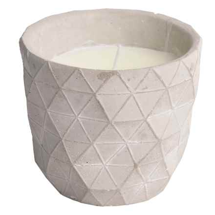Tag Citronella Candle Pot - Small in Cement - Closeouts