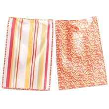 Tag Cotton Dish Towel - Set of 2 in Petite Floral - Closeouts