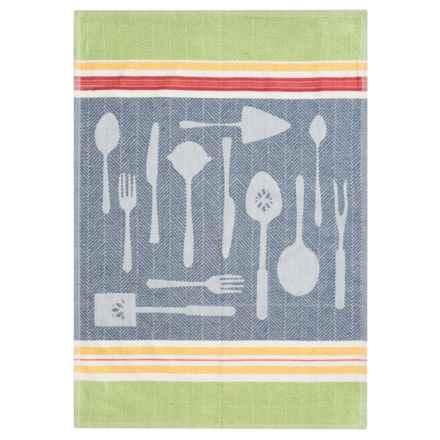 Tag Cotton Jacquard Kitchen Dish Towel in Kitchen Utensils - Closeouts
