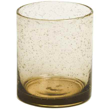 Tag Double Old-Fashioned Glass - Bubble Glass, 15 fl.oz. in Wheat - Closeouts