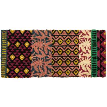 "Tag Estate Entry Mat - 18x40"", Coir in Global - Closeouts"