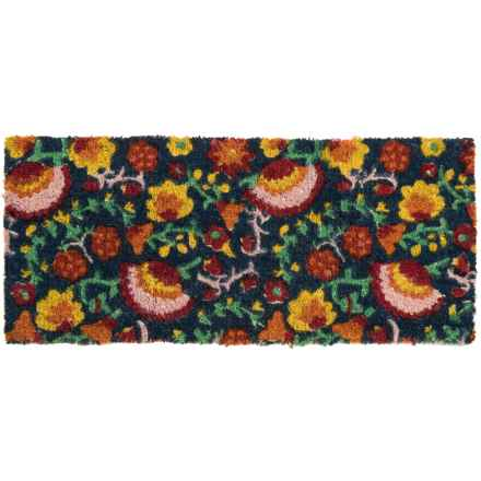 "Tag Estate Entry Mat - 18x40"", Coir in Majolica - Closeouts"