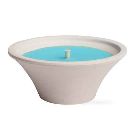 Tag Eucalyptus Outdoor Candle in Blue - Closeouts