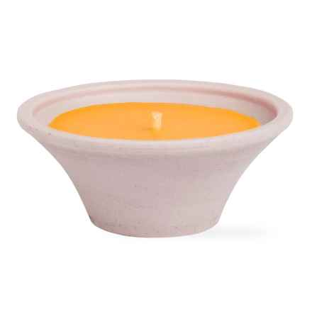 Tag Eucalyptus Outdoor Candle in Orange - Closeouts