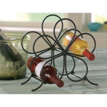Tag Flora Metal Wine Rack in Black - Closeouts