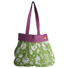 Tag Gazebo Cotton Tote Bag in Green - Closeouts