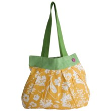 Tag Gazebo Cotton Tote Bag in Yellow - Closeouts