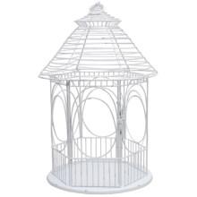 Tag Gazebo Lantern in White - Closeouts