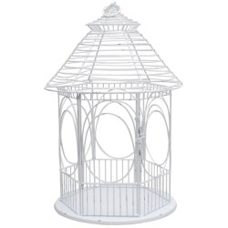 Tag Gazebo Lantern in White