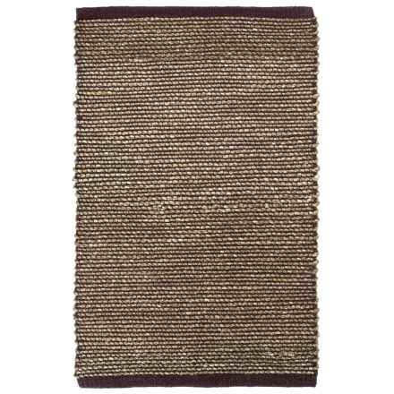 "Tag Hand-Woven Seagrass Accent Rug - 24x36"" in Brown - Closeouts"