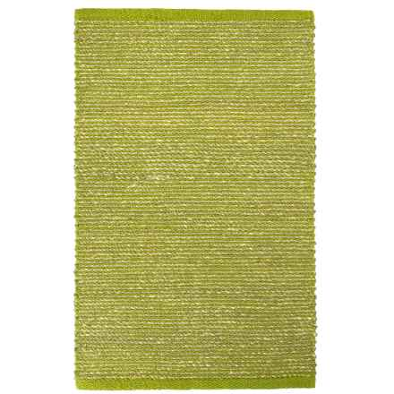 "Tag Hand-Woven Seagrass Accent Rug - 24x36"" in Green - Closeouts"