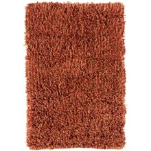 Tag Heathered Cotton Rug - 2x3' in Red - Closeouts