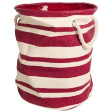 Tag Hudson Stripe Crunch Bag in Red/White - Closeouts