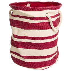 Tag Hudson Stripe Crunch Bag in Red/White