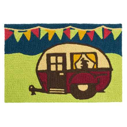 "Tag Indoor-Outdoor Accent Rug - 23x35"" in Camper - Closeouts"