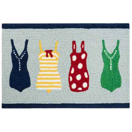 "Tag Indoor-Outdoor Accent Rug - 23x35"" in Surfer Girl - Closeouts"