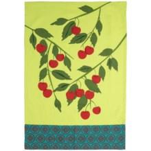 Tag Jardin Cotton Dish Towel in Cherries - Closeouts